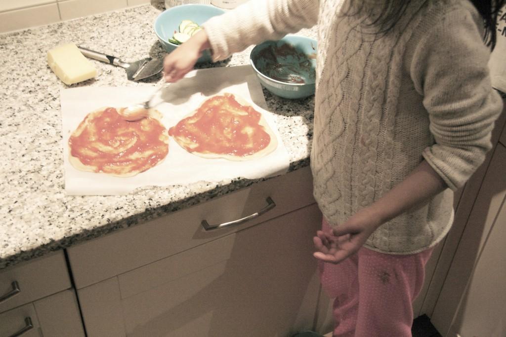leuke pizza